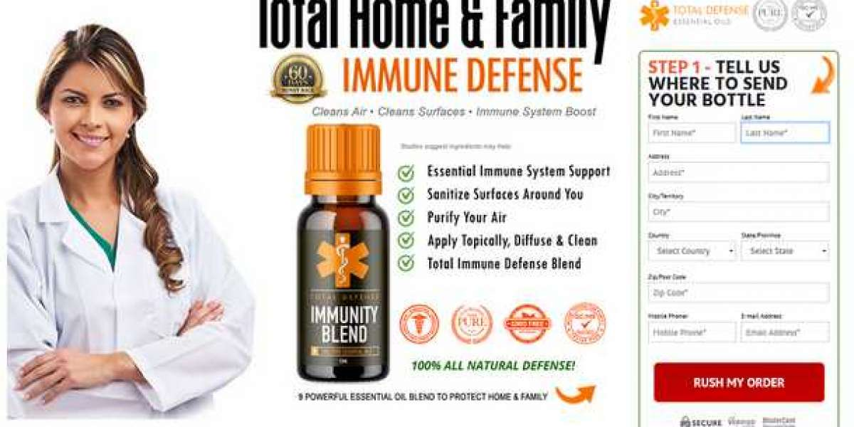Total Defense Immunity Blend - Natural Formula To Boost Immunity System!